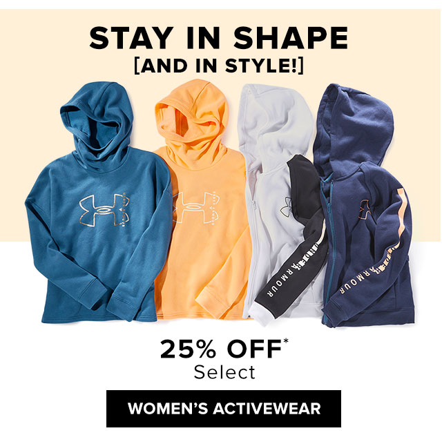 25% Off Select Women's Activewear