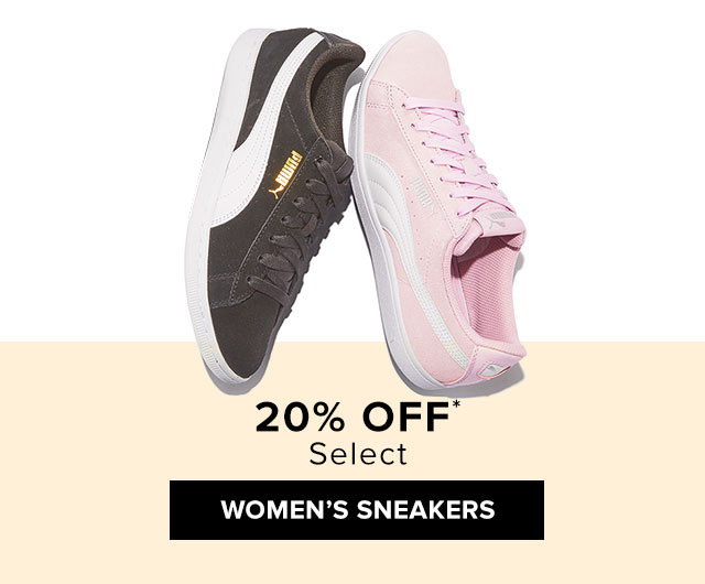 20% Off* Women's Sneakers