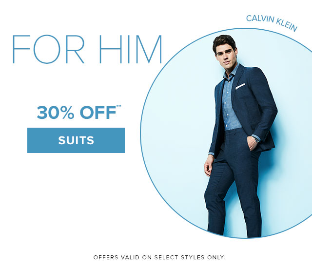 FOR HIM - 30% off** Suits