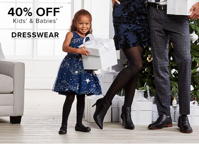 40% OFF KIDS DRESSWEAR